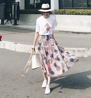 5 bí kíp giúp chọn váy dáng dài cho mùa hè vừa xinh vừa chống nắng